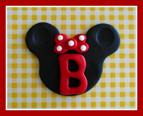 Big Minnie with Initial