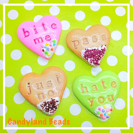 Anti Valentine Cookies