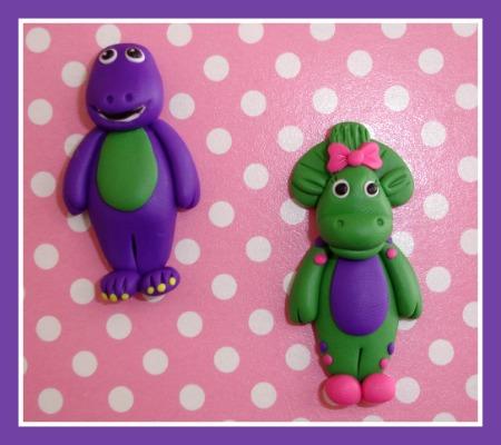 Barney or Baby Bop