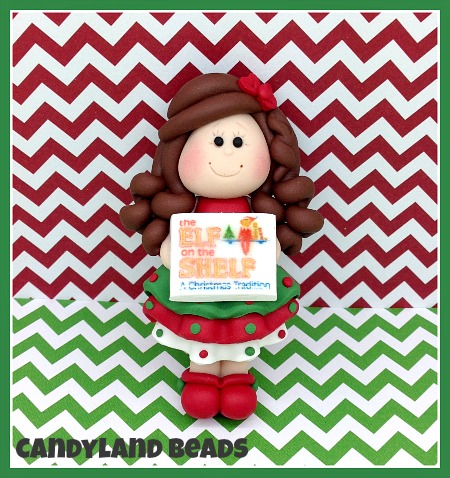 Book Club Girl - Elf on the Shelf