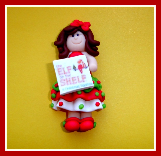 Book Club Girl - Elf on the Shelf