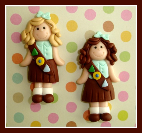 Brownie or Girl Scout Girl
