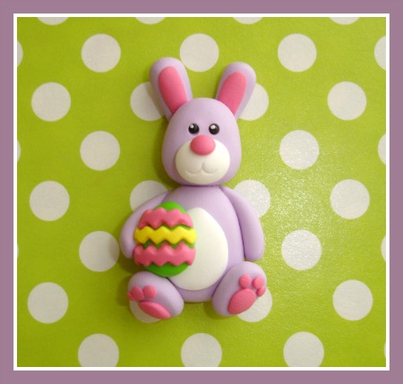 Purple Easter Bunny