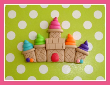 Candyland Ice Cream Castle