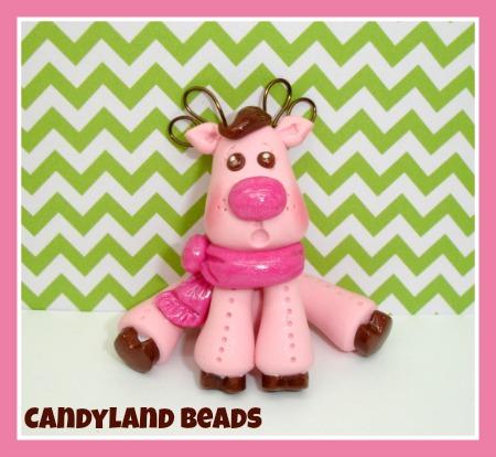 Candy Pink Reindeer