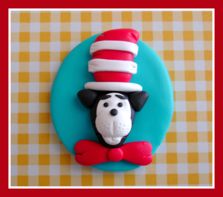 Dr. Seuss Cat in the Hat Oval