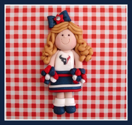 Custom Cheerleader - Any Team