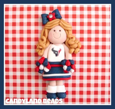 Custom Cheerleader - Any Team
