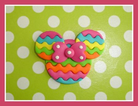 Chevron Stripe Minnie Mouse