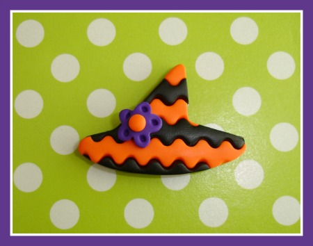Chevron Witch Hat - Any Colors