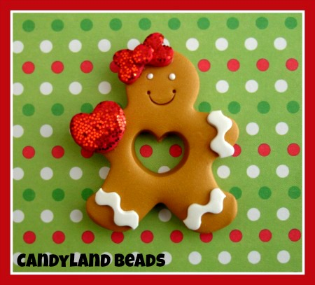 Cut out Gingerbread Cookie
