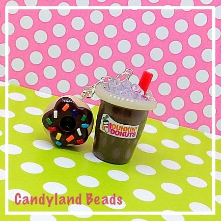 Dunkin' Donuts Iced Coffee/Donut Combo