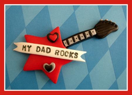 My Dad Rocks Guitar