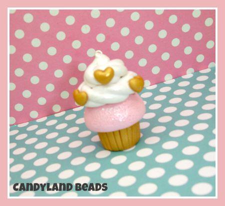 Fancy Gold Cupcake