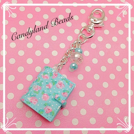 Floral 'Sunday Dots' Planner Charm