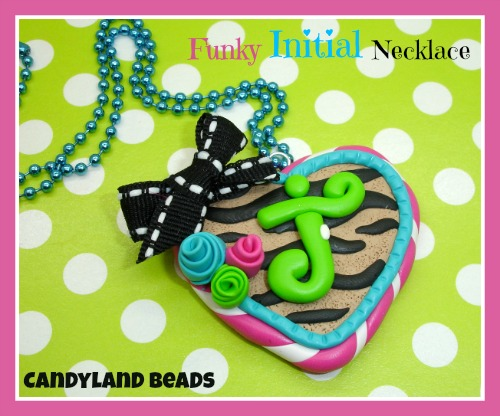 Funky Initial Necklace