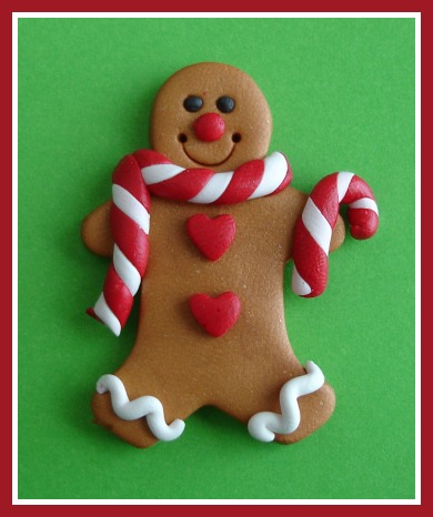 Peppermint Gingerbread Man