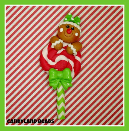 Gingerbread Lollipop