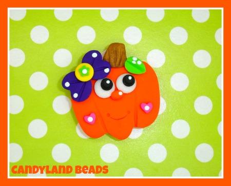 Girly Halloween Pumpkin