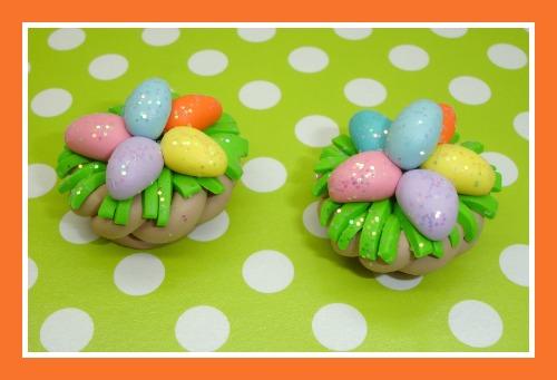 Glitter Easter Egg Basket