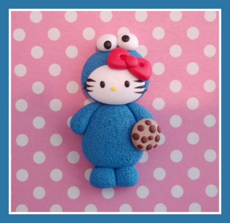 Hello Kitty Cookie Monster