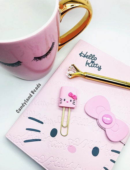 Hello Kitty Planner Clip