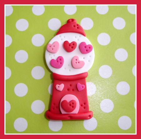 Heart Gumball Machine