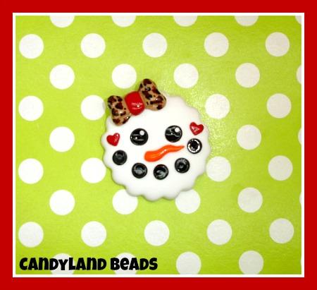 Leopard Snowman Head