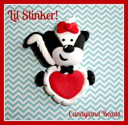 Lil Stinker - Valentine Skunk