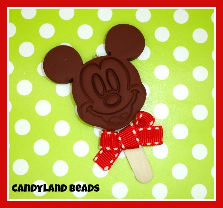 Mickey Mouse Ice Cream Pop