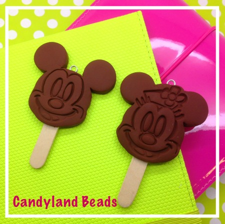 Mickey Mouse Ice Cream Pop - Chocolate Scented