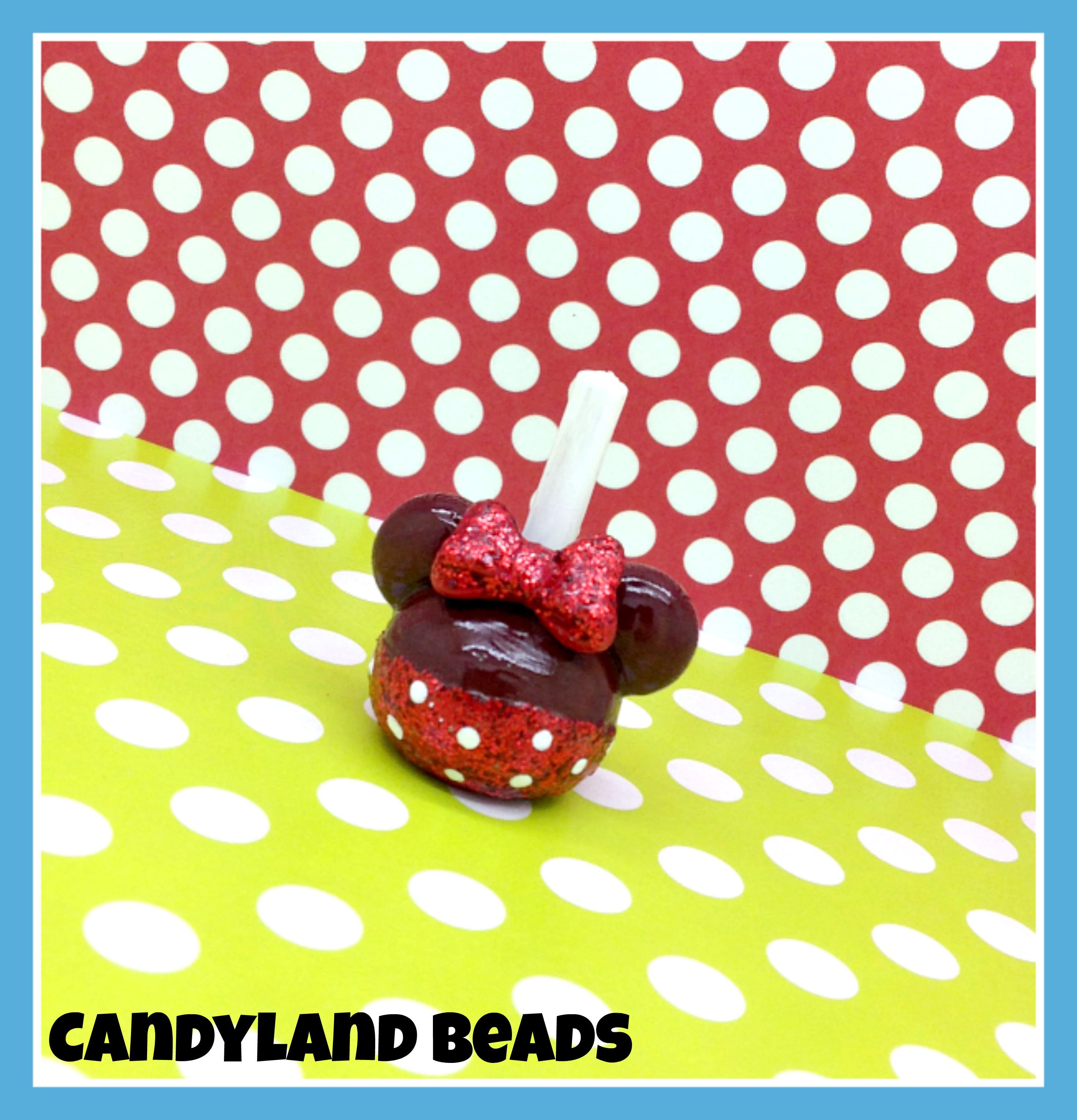 Minnie Mouse Candy Apple