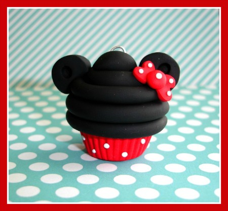 Minnie Mouse Cupcake 3-D