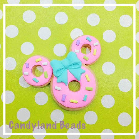 Minnie Mouse Sprinkle Donut