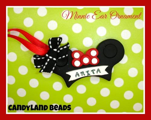 Minnie Ears Ornament