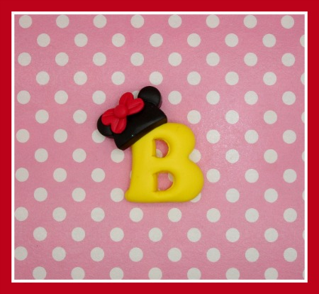 Minnie Hat Initial - Any Colors