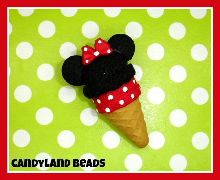 Minnie Mouse Ice Cream Cone