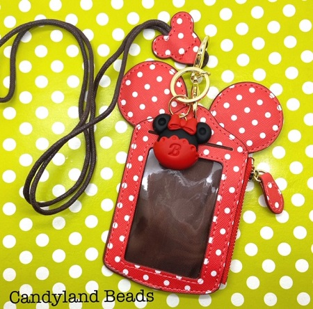 Minnie Mouse Lanyard Wallet