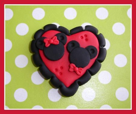 Minnie/Mickey Heart