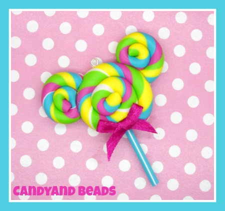 Minnie Swirl Lollipop