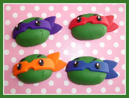 Ninja Turtle Head (Any Color Mask)