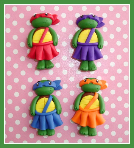 Girly Ninja Turtle - Tutu Color Choice