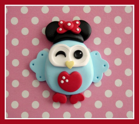 Minnie Mouse Owl