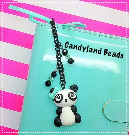Panda Planner Charm Set