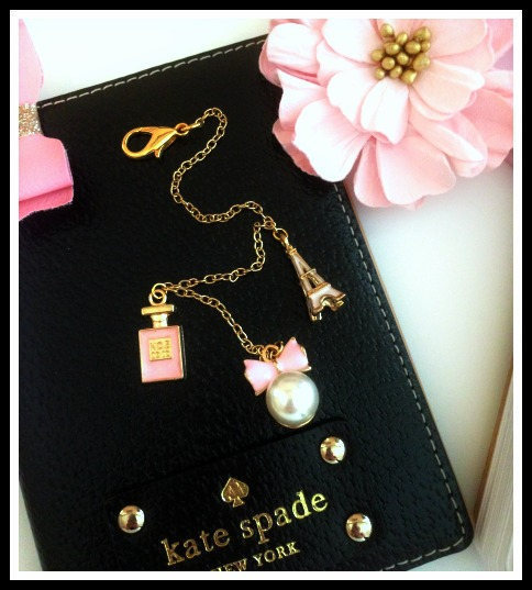 Paris in Pink Charm Set