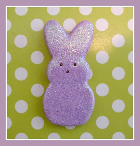 Glitter Bunny Peep (Large)