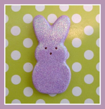 Glitter Bunny Peep (Large)