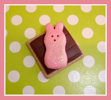Peep Bunny Smores