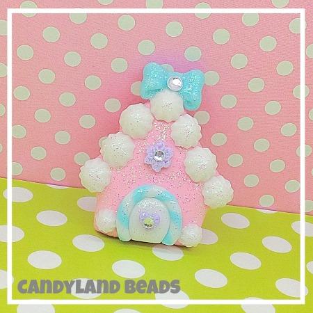 Pink Sugar Gingerbread House