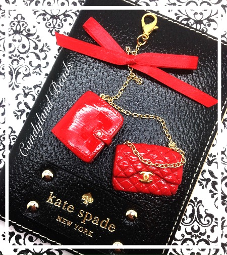 Planner and Chanel Purse Planner Charm Set